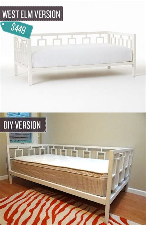 make your own daybed build your own west elm and daybeds on pinterest