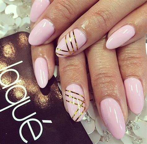 Graue Nägel by Pink And Gold Stripe Fmag