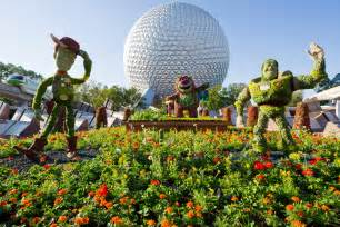 Garden Of Story Freshly Trimmed Pixar Characters Make Their Way To Epcot