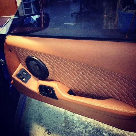custom supra interior 95 supra custom door panel stitch peanut