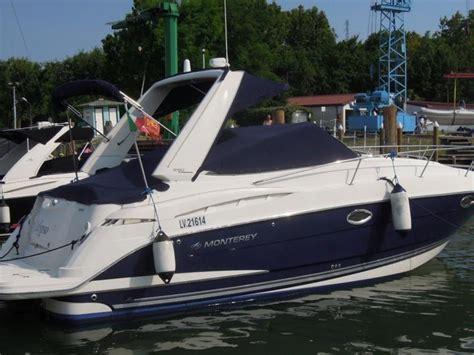 monterey diesel boats monterey boats 315 scr sport cruiser diesel in veneto