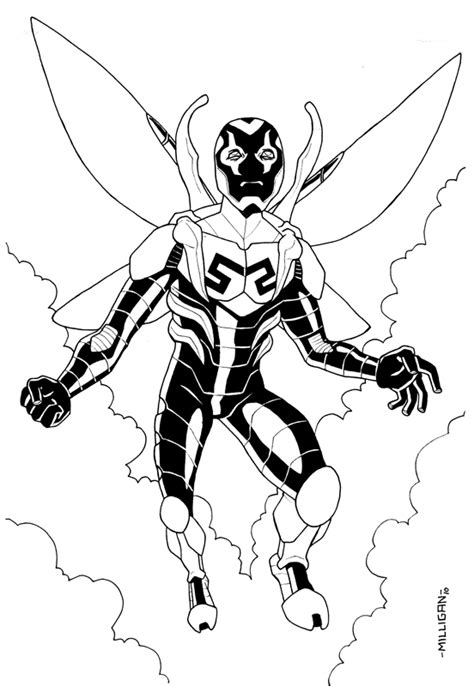 blue beetle coloring pages coloring pages