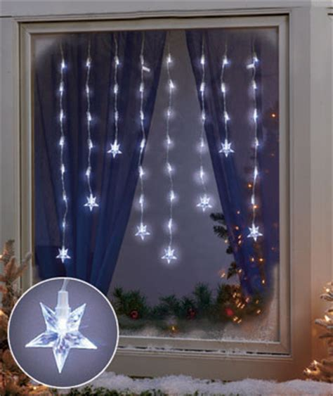 led window icicle lights holiday window lights snowflakes