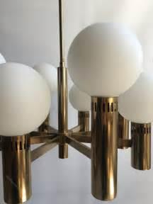 antique chandelier globes antiques atlas brass glass globe chandelier attr stilnovo