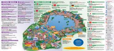 map of epcot florida epcot center epcot theme park
