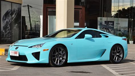 Tiffany Blue Lexus Lfa In China Gtspirit