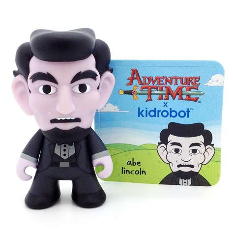 adventure time abraham lincoln adventure time x kidrobot series abraham lincoln
