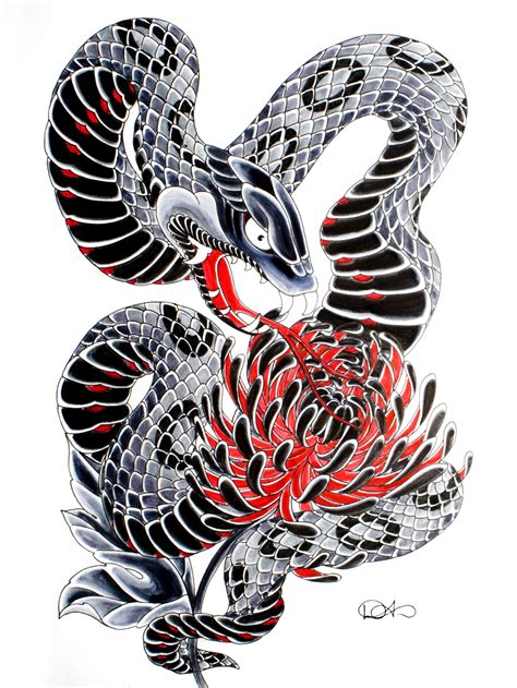japanese snake tattoo designs japanese snake designs www imgkid the image
