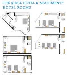 hotel room floor plans hotel rooms floor plan the ridge hotel and apartments