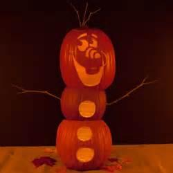 Disney Halloween Pumpkin Carving Patterns - olaf pumpkin carving template disney family