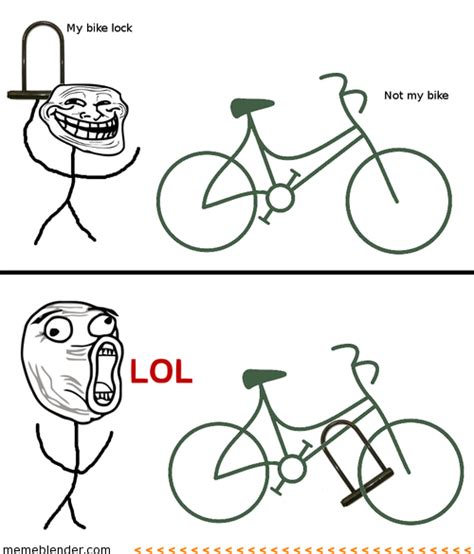 Troll Faces Meme - troll face meme not my bike trollin pinterest troll