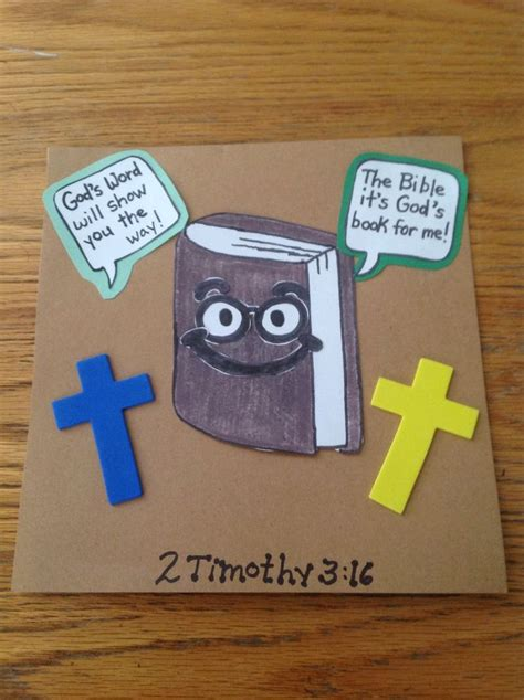free bible crafts for to make god s word bible craft for bible crafts by let