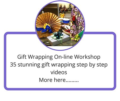 gift wrapping course on line gift wrapping course neelam meetcha gift