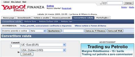 convertitore valuta banca italia cambio di valuta on line australia futures petrolio