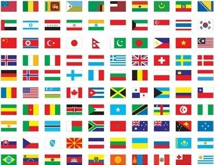 flags of the world united nations united nations flags free vector download 3 126 free
