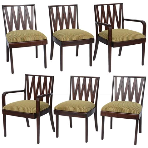 1940s Dining Room Furniture Classic 1940 S Paul Frankl Dining Chairs For Johnson Furniture At 1stdibs