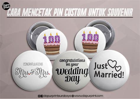 Custom Unicorn Terbaru Cetak Jakarta cara mencetak quot pin custom untuk souvenir quot oleh fajar