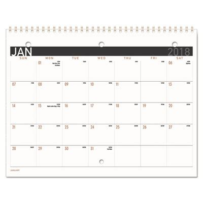 Small Desk Calendar Contemporary Small Monthly Desk Wall Calendar 11 X 8 1 2 2018 Office Essentials