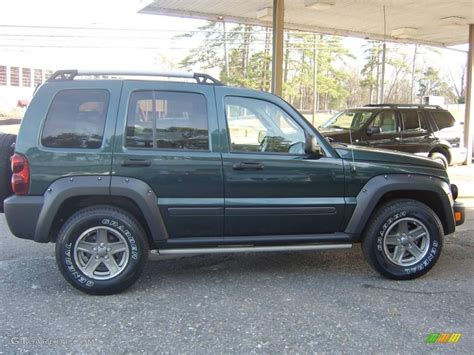 2006 green jeep liberty 2006 beryl green pearl jeep liberty renegade 4x4
