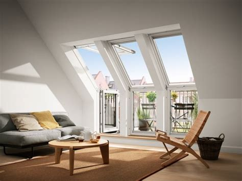 Holz Dachfenster Lackieren by Velux Dachfenster Gel 2065 Holz Dachbalkon Obenelement
