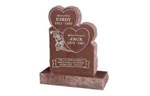 Flower Vases For Headstones Heart Shaped Tombstones Heart Headstones Grave Markers