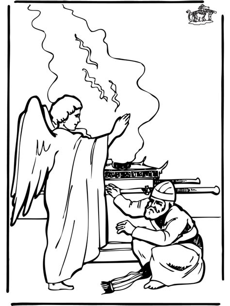 coloring page zechariah at the temple zechariah and elizabeth coloring pages az coloring pages