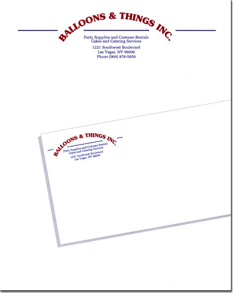 printable stationery envelopes envelope stationary