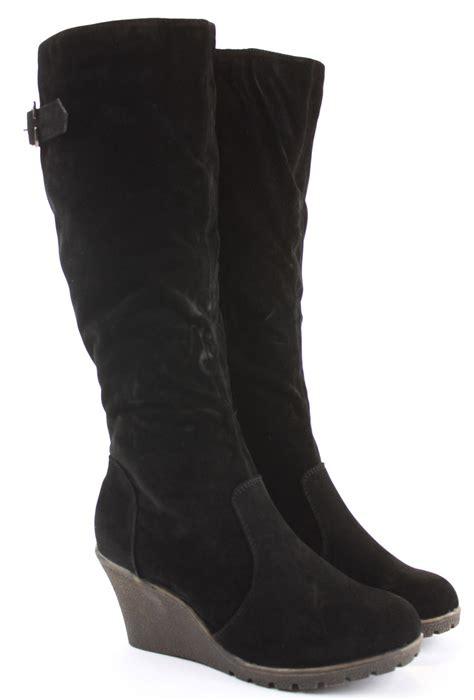 womens wedge shoes wedges high heels platform winter knee
