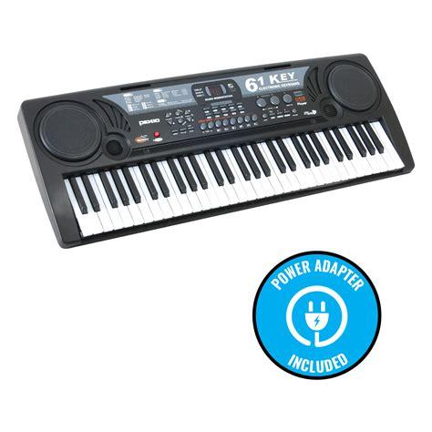 Keyboard Piano Usb 61 Key Electronic Keyboard Piano Electric Organ W Usb Input Lessons Ebay