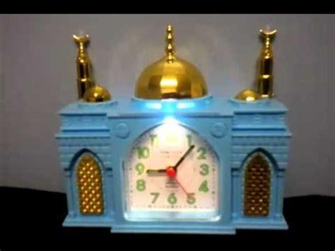 mosque shaped azan clock   colours youtubeflv
