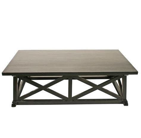 luc coastal rubbed black coffee table kathy