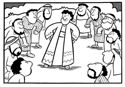sunday school coloring pages for joseph joseph and the coat of many colors sunday school ideas