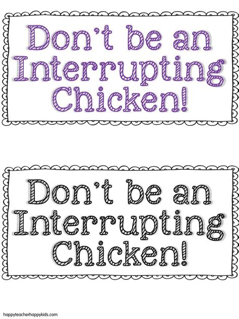 interrupting chicken coloring page 89 best thanksgiving books and activities images on