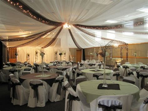Reception Ceiling Decorations by Best 25 Wedding Reception Ideas On