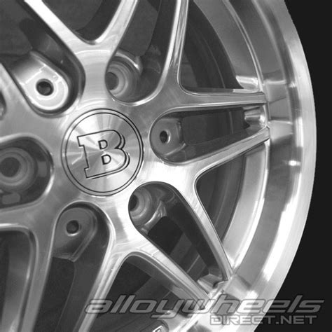 Smart Wheel Mono Wheel D 04 17 quot smart brabus mono vii wheels in silver polished surface alloy wheels direct 1331072