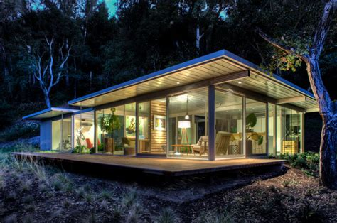 modern prefab guest house modular glass guest house modern exterior san francisco by canyon construction