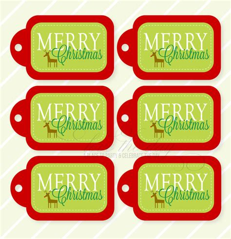 printable gift tags for neighbors merry christmas printable gift tags by love the day