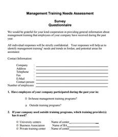 survey template pdf sle needs assessment child care
