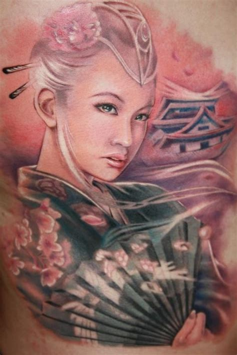 tattoo pictures geisha interesting geisha tattoo by laura juan design of
