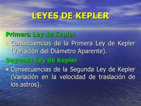la ley de los 8425352908 leyes de kepler