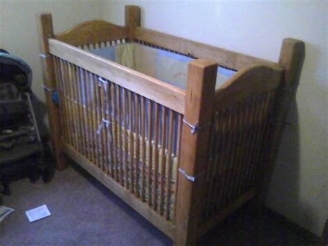 Diy Homemade Crib Plans Free Plans For Baby Crib