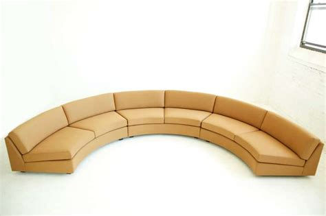 milo baughman curved sofa curved sectional sofa by milo baughman at 1stdibs