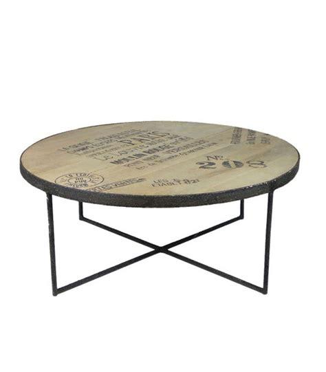 Deco Salon Industriel 4811 tables basses wadiga