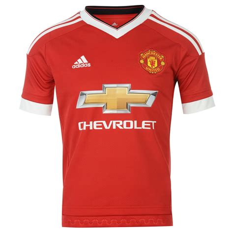 Manchester United Home 1314 Signed Shirt adidas manchester united home jersey 2015 2016 juniors