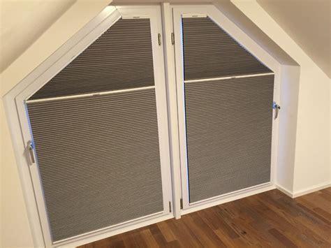 Plissee Eckfenster aufmontage f 252 r eckfenster und rechteckige senkrechtfenster