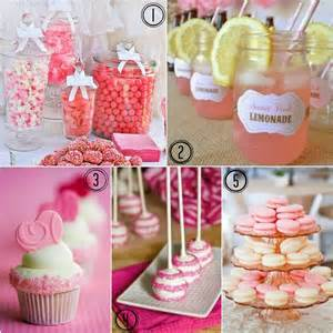 at pretty in pink bridal shower ideas