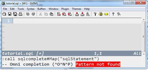 Vim Insensitive Search Windows Sql Completion Tutorial On Vim User
