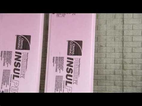 owens corning basement insulation install rigid foam insulation in basement