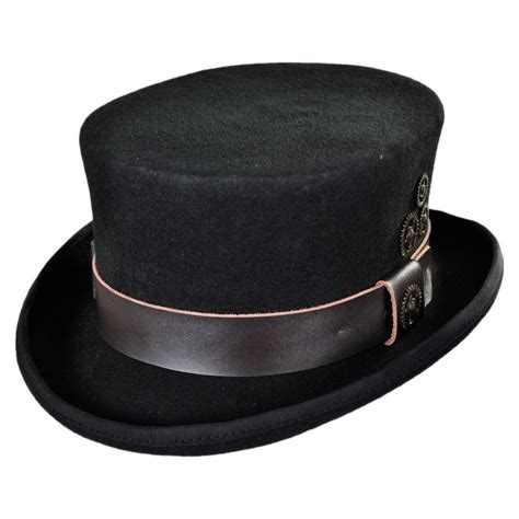 Conner Time Travel Steampunk Top Hat Top Hats