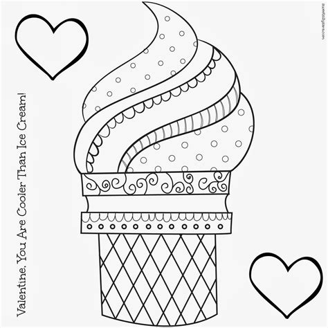 free coloring page ice cream cone hipster coloring pages coloring page viewing gallery